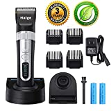 Dog Grooming Clippers - Rechargeable Cordless Quiet Pet Hair Clippers Trimmer Blades Dog Comb Shears Best Professional Hair Clipper Set for Dogs Cats Pets Long Short Hair