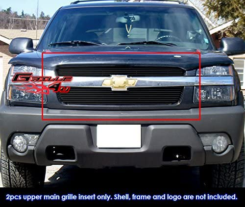 Off Roader 2001-2006 Chevy Avalanche with Body Cladding Black Billet Grille Grill Insert