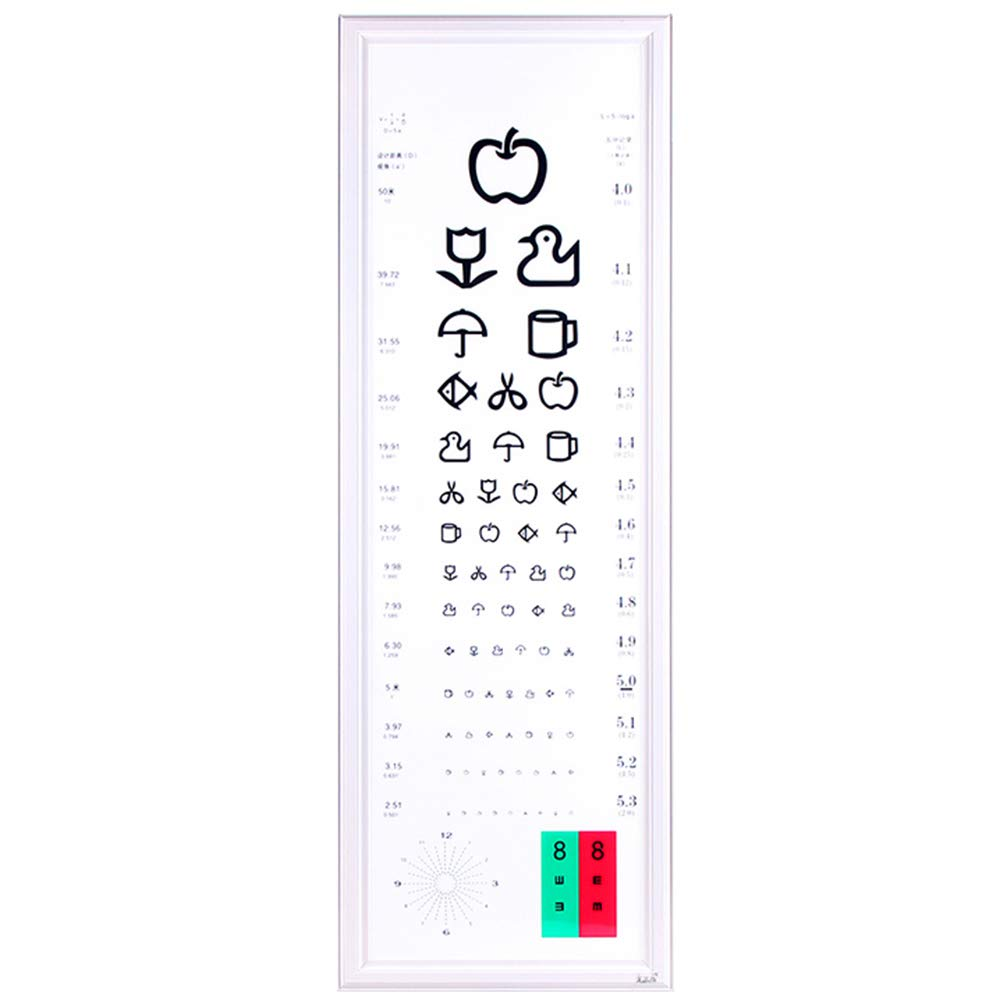 Eye Chart LED Standard Logarithmic 5 Meters Ultra-Thin Detection of Children's Vision