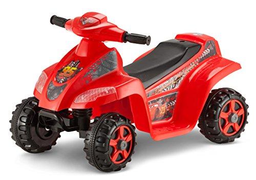 Kid Trax Cars Toddler Quad