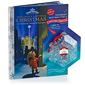 Hallmark Find Me, Santa! Snowflake and Once Upon a Northpole Christmas (Hardcover)