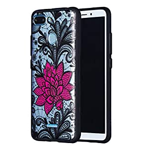 Amazon.com: Exinnos Lace Flower Shockproof PC + TPU Back