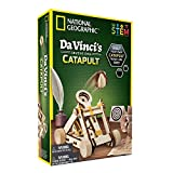 NATIONAL GEOGRAPHIC Da Vinci's DIY Science & Engineering Construction Kit- Build Your Own Wooden Model of The Original Catapult