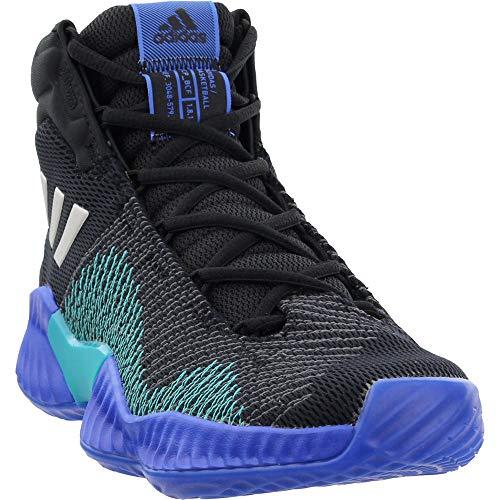 adidas Men's Pro Bounce 2018 Basketball Shoe, Black/Light Solid Grey/Grey, 6.5 M US