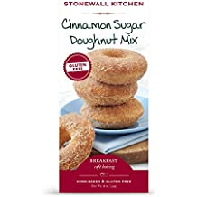 Stonewall Kitchen Gluten Free Cinnamon Sugar Doughnut Mix, 18 Ounce Box