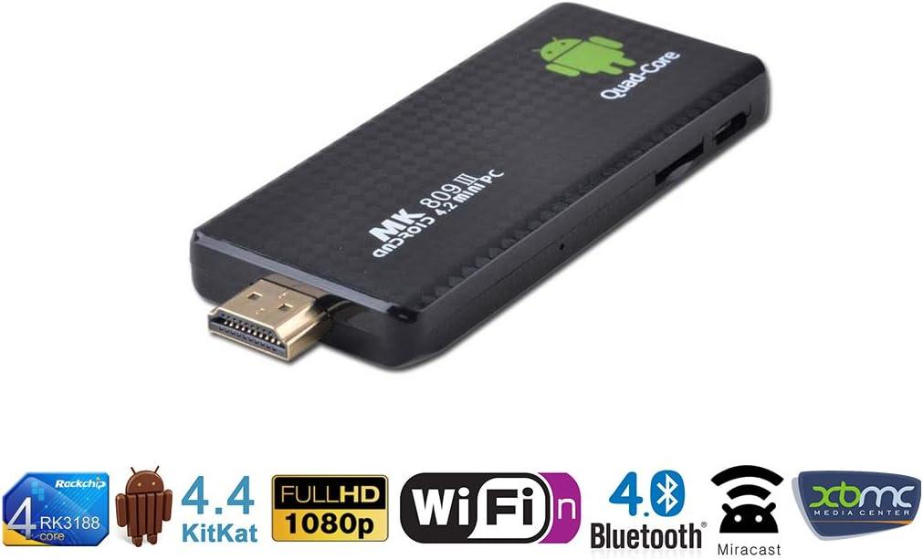 Orbsmart OS-M809III - Adaptador para Smart TV (WiFi, Bluetooth, USB), negro [Importado]: Amazon.es: Electrónica