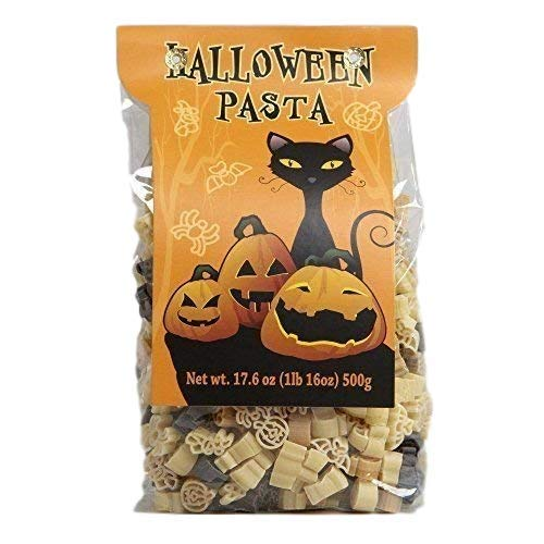 Halloween Pasta Shapes Pumpkins Spiders Bats 17.6