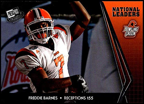 2010 Press Pass #73 Freddie Barnes NM-MT Bowling Green Falcons/Chicago Bears Official Collegiate Football Card