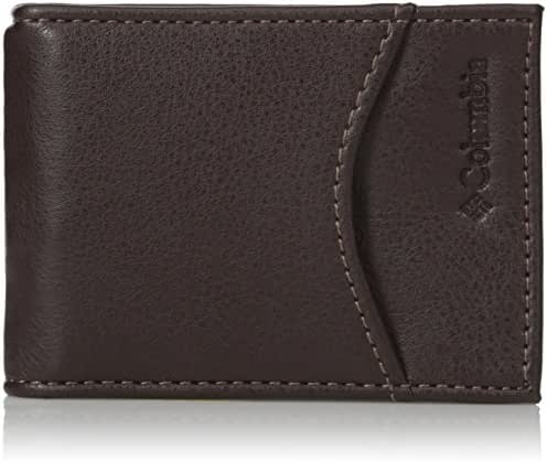Columbia Men's RFID Protected Front Pocket Wallet With Money Clip