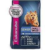 Eukanuba Senior Small Breed Dry Dog Food, 15 lb. b...