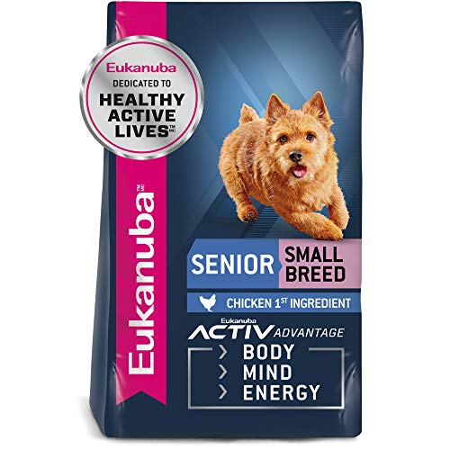 EUKANUBA Senior Small Breed Dog Food 15 Pounds