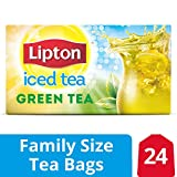 Lipton Family-Sized Iced Tea Bags Green Tea 24 ct, pack of 6