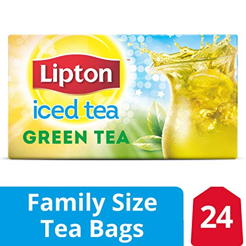 Lipton Family-Sized Iced Tea Bags Green Tea