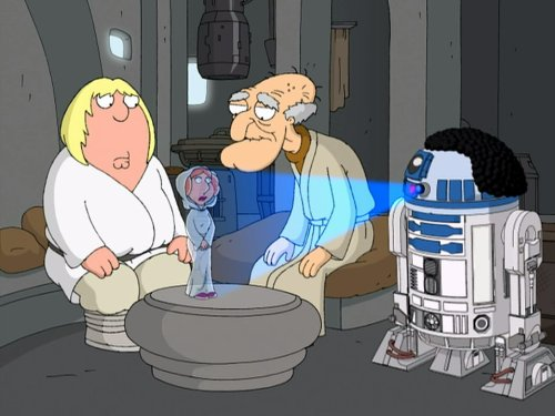 Blue Harvest (Family Guy Time Travel Stewie And Brian)