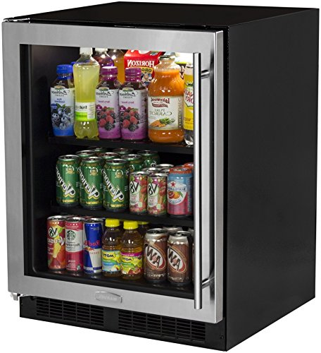 Marvel MA24BCG1LS ADA Beverage Center, Left Hinge with Closed Door Assist, 24-Inch, Stainless Steel by Marvel