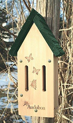 Audubon Butterfly Shelter, Wooden Attract Butterflies Butterfly House