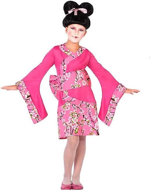 DISBACANAL Disfraz Geisha Rosa para niña - -, 5-6 años: Amazon.es ...