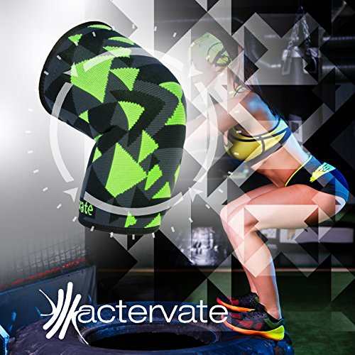 Yoga Shoes For Arthritis: Actervate Compression Knee Sleeve Brace