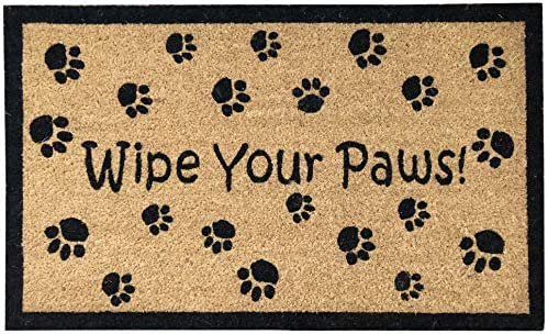 33014 Superscraper 30 X 18 Vinyl Coir, Wipe Your Paws