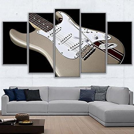 La decoración del hogar Salón de Arte de pared de frame HD imprime imágenes 5 piezas
