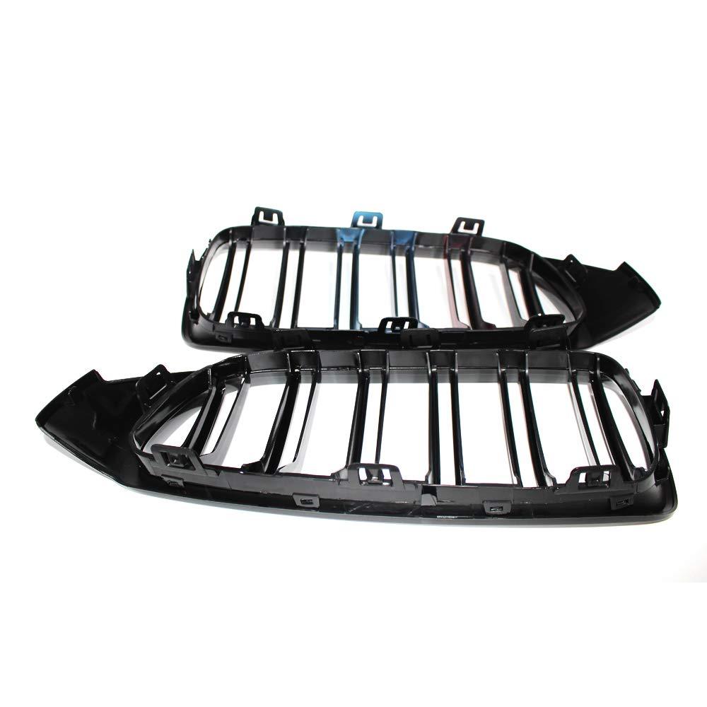 Parrilla Desconocido Rejillas de Doble Puente Delanteras F36 F83 14-17 Serie M F32 F33 F82 M4 13-17 Color Negro Brillante