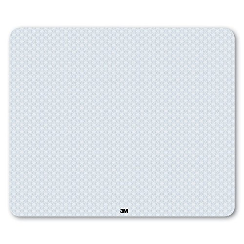 3M Precise Mouse Pad, Optical Mouse Performance, Battery Saving Design, Easy to Clean, 13 x 11 for Gaming, MP114L-BSD3