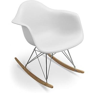 RAR Schaukelstuhl Charles Eames Style   Polypropylen Matt