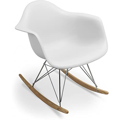 rar schaukelstuhl charles eames style polypropylen matt - Charles Eames Schaukelstuhl