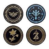 Paladone The Legend Zelda Metal Drink Coasters