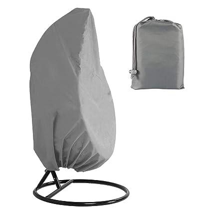 Rattan Swing Patio Garden Weave Hanging  Egg Chair Seat Cover Anti-UV Waterproof