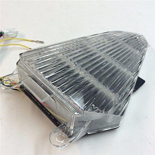 Trasera Intermitente LED cola luz de freno integrado para Yamaha YZF R6/2008/a 2013