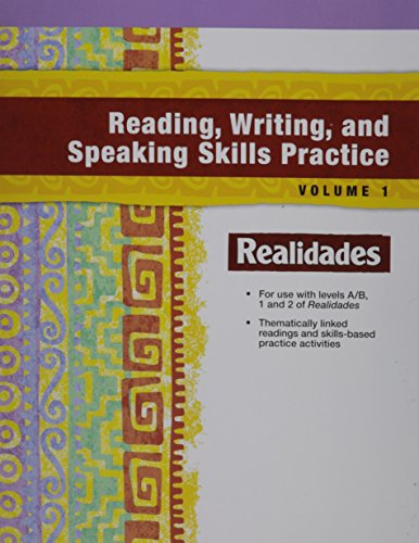 READING, WRITING, AND SPEAKING WORKBOOK, VOLUME 1