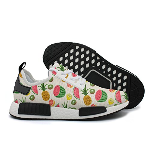HSJDAPOCOAQ Fruits Pineapple Watermelon Kiwi Girls' Sneakers Fitness Shoes by HSJDAPOCOAQ
