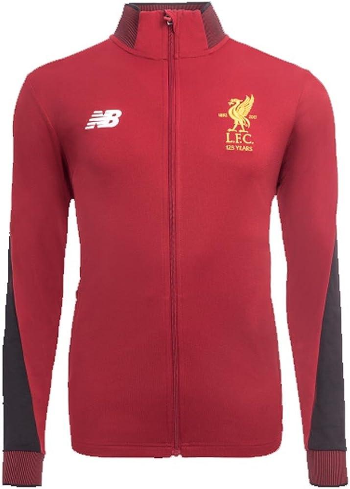 New Balance Chandal Liverpool 2017-2018, Hombre, Rojo, XL: Amazon ...