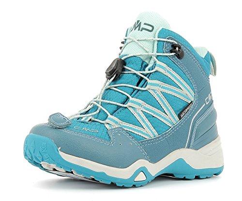CMP Sirius Mid 3Q48364K Zapatillas infantiles de senderismo trükis/blau