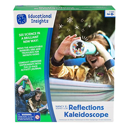 Educational Insights Nancy B's Science Club Reflections Kaleidoscope B's, Multicolor (Nature Kaleidoscope)