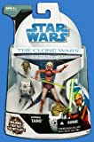 Star Wars Clone Wars Animated Action Figure No. 9 Ahsoka Tano with Rotta the Huttlet