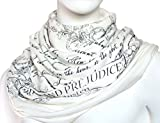 Book Scarf is a jersey infinity\loop scarf with quotes from the world famous books. If this particular quote is not you favorite then go and check other books from our virtual library. We also have passages from ALICE IN WONDERLAND, DRACULA, PETER PA...