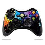 Protective Vinyl Skin Decal Cover for Microsoft Xbox 360 Controller wrap sticker skins Splatter Review