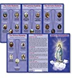 Amazon Price History for:Hail Mary Our Father Prayers How to Pray the Rosary Tri Fold Reference Pocket Holy Card