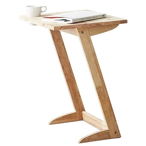 XIAOYAN Mesa De Cafe Mesa Auxiliar, Mesa para Ordenador portátil con Bandeja para TV, ...