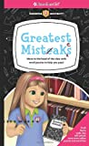 img - for Greatest Mistakes: Move to the head of the class with word puzzles to help you pass! (American Girl (Quality)) book / textbook / text book