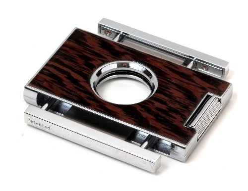 Brizard & Co. Elite Series Exotic Wenge Cigar Cutters by Brizard & Co