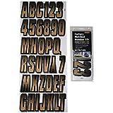Hardline Products BRBKG300 Brown/Black Number Factory Matched Registration Kit