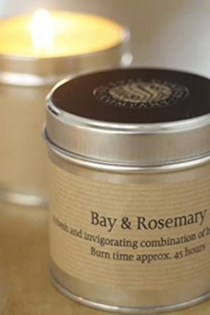 Tin Candle - Bay and Rosemary by St Eval: Amazon.co.uk: Kitchen & Home