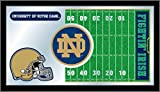 NCAA Notre Dame Fighting Irish 15 x 26-Inch Football Mirror