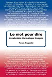 Le Mot Pour Dire, Tunde Dugantsi, 1484955641