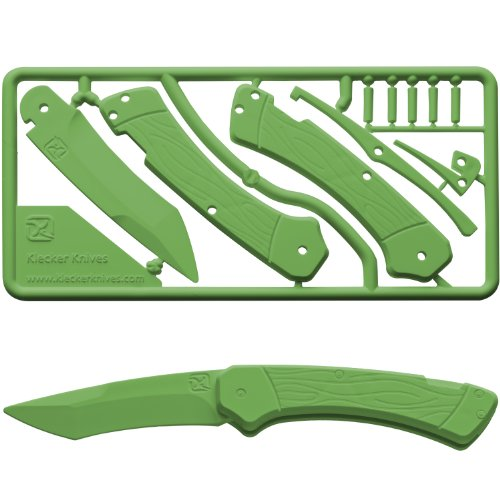 Trigger Knife Kit by Klecker Knives (Forest Green)