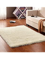 Solid Color Rectangular Living Room Sofa Coffee Table Long Wool Full Of Carpet A Color Beige1 Size 140200 Cm 55 1178 74 In