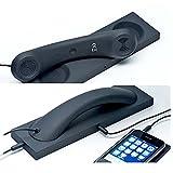 Retro Handset,Cell Phone Handset,Retro Telephone Handset Anti Radiation Receivers 3.5MM for iPhone iPad,Mobile Phones,Computer